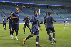 October 17, 2017 - Na - Leipzig, 10/16/2017 - Training to adapt to the pitch of the Fc Porto team at the Red Bull Arena, in anticipation of the game against RB Leipzig for the Champions League. Herrera, Jesús Corona  (Credit Image: © Atlantico Press via ZUMA Wire)