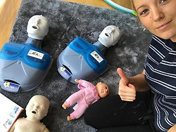 """Blake Lively releases a photo on Instagram with the following caption: """"ALL MAMAS AND DADDIES OUT THERE-- I can't recommend this enough, I took a CPR class with with a focus on babies and toddlers. Google \"""". Photo Credit: Instagram *** No USA Distribution *** For Editorial Use Only *** Not to be Published in Books or Photo Books ***  Please note: Fees charged by the agency are for the agency's services only, and do not, nor are they intended to, convey to the user any ownership of Copyright or License in the material. The agency does not claim any ownership including but not limited to Copyright or License in the attached material. By publishing this material you expressly agree to indemnify and to hold the agency and its directors, shareholders and employees harmless from any loss, claims, damages, demands, expenses (including legal fees), or any causes of action or allegation against the agency arising out of or connected in any way with publication of the material."""