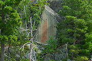 Pictographs on Lake of the Woods<br />Morson<br />Ontario<br />Canada