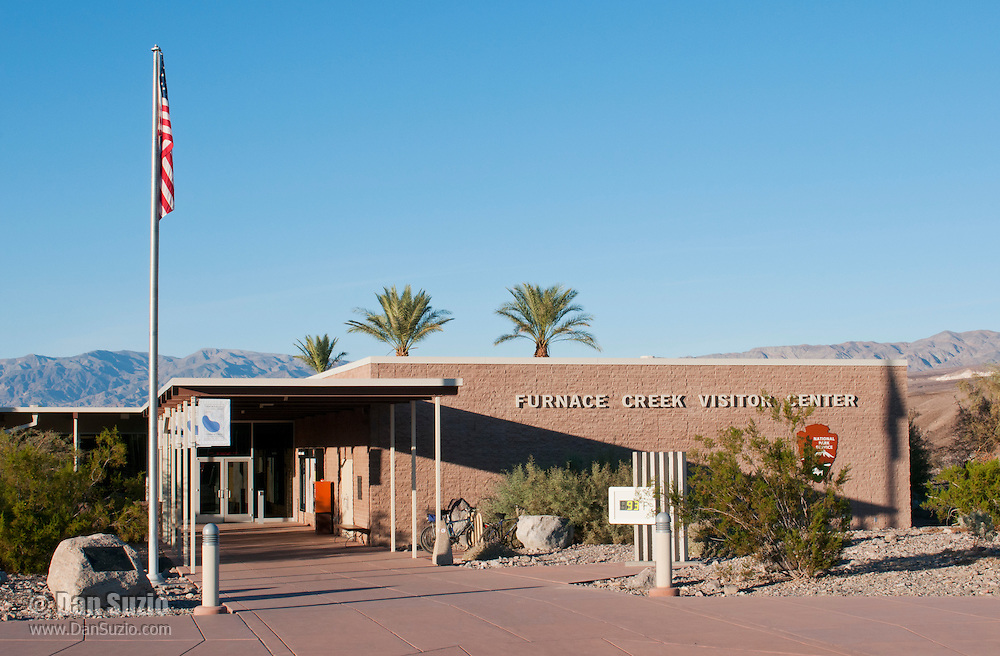 Furnace Creek Visitor Center in Death Valley National Park, California