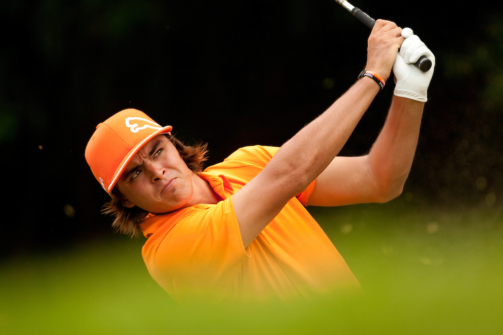 NEWTOWN SQUARE, PA - JULY 3: Rickie Fowler during the fourth round of the 2011 AT&T National at Aronimink Golf Club in Newtown Square, Pennsylvania on July 3, 2011. (Photograph ©2011 Darren Carroll) *** Local Caption *** Rickie Fowler