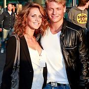 NLD/Amsterdam/20110426 - Premiere Fast & Furious 5, Thomas Berge en partner Anne van Essen
