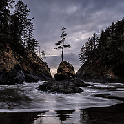 Cape Disappointment is riddled with place names that evoke the most epic history of the region. Beard's Hollow, Dead Man's Hollow, Dead Man's Cove, Peacock Spit, Benson Beach – all allude to the disastrous maritime history that earned this area the moniker 'Graveyard of the Pacific.