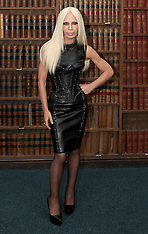 Donatella Versace at Oxford Union, 30-5-12