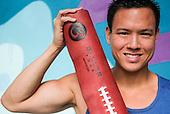 Cedric Yau, founder of Baller Yoga