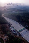 The North South Expressway links Kuala Lumpur to Thailand.  The Petronas Towers, the other twins towers have emerged to become the world's tallest buildings and the Other Twin Towers.
