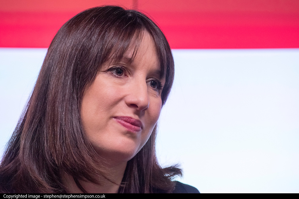 © Licensed to London News Pictures. 04/02/2015. London, UK  A speech by Rachel Reeves on Tory failure on wages and low pay and Labour's Plan to Make Work Pay at Bloomberg in London today 4th February 2015. Photo credit : Stephen Simpson/LNP