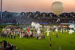 Opening ceremony, Final parade<br /> CHIO Aachen 2019<br /> Weltfest des Pferdesports<br /> © Hippo Foto - Dirk Caremans<br /> Opening ceremony, Final parade
