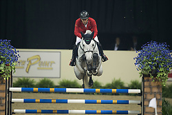 Dreher Hans Dieter, (GER), Cool and Easy<br /> Longines FEI World Cup™ Jumping Final II<br /> Las Vegas 2015<br />  © Hippo Foto - Dirk Caremans<br /> 18/04/15