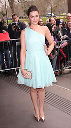 ANNA PASSEY attends the 2014 TRIC Awards at The Grosvenor House Hotel, London, United Kingdom. Tuesday, 11th March 2014. Picture by i-Images