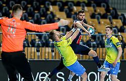 Nedim Grebille of Paris during handball match between RK Celje Pivovarna Lasko (SLO) and Paris Saint-Germain Handball (FRA) in Round of 16 of EHF Champions League 2020/21, on April 1, 2021 in Arena Zlatorog, Celje, Slovenia. Photo by Vid Ponikvar / Sportida