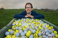 AMSTELVEEN - journalist , columnist voor Golf.nl, Jan van Galen.    COPYRIGHT KOEN SUYK