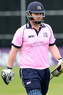Middlesex's Paul Stirling during the NatWest T20 Blast South Group match between Gloucestershire County Cricket Club and Middlesex County Cricket Club at the Bristol County Ground, Bristol, United Kingdom on 15 May 2015. Photo by Alan Franklin.