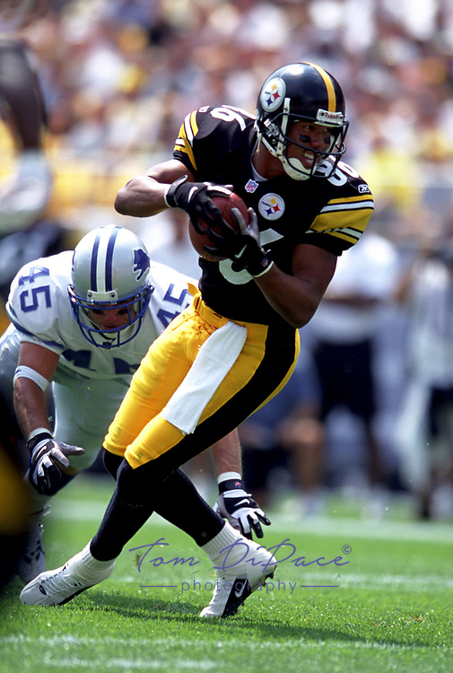 Tom DiPace Photography<br /> All rights reserved © 2003<br /> 561-968-0600<br /> HINES WARD STEELERS<br /> BY TOM DIPACE©