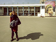 """Arrival at Kabul Airport 7th July 2005 after obtaining special authoristaion from the Pakistan Ministry of Tourism (a """"crash procedure""""...) to enter Pakistan from the Wakhan Corridor in N-E Afghanistan."""