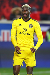 November 11, 2018 - Harrison, NJ, U.S. - Harrison, NJ - NOVEMBER 11:  Columbus Crew forward Gyasi Zerdes (11) during the second half of the Major League Soccer Eastern Conference Semifinals between the Columbus Crew SC and the NY Red Bulls on November 11, 2018 at Red Bull Arena in Harrison, NJ.   (Photo by Rich Graessle/Icon Sportswire) (Credit Image: © Rich Graessle/Icon SMI via ZUMA Press)