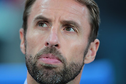 July 3, 2018 - Moscow, Russia - head coach Gareth Southgate of England National team during the round of 16 match between Colombia  and England at the FIFA World Cup 2018 at Spartak Stadium  in Moscow, Russia, Tuesday, July 3, 2018. (Credit Image: © Anatolij Medved/NurPhoto via ZUMA Press)