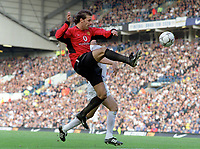 Ruud Van Nistelrooy (Utd). Leeds United v Manchester United. 18/10/03. Credit : Colorsport/Andrew Cowie.