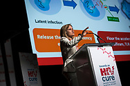 21st International AIDS Conference (AIDS 2016), Durban, South Africa.<br /> Photo shows Sharon Lewin speaking at the Towards a HIV Cure: Engaging the Community.<br /> Photo © Steve Forrest/Workers' Photos