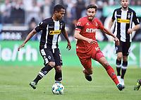 v.l. Raffael, Jonas Hector (Koeln)<br /> Moenchengladbach, 20.08.2017, Fussball Bundesliga, Borussia Moenchengladbach - 1. FC Köln 1:0<br /> <br /> Norway only