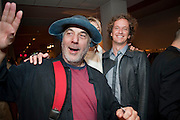 RON ARAD; YVES BEHAR, NADJA SWAROVSKI BOOK LAUNCH FOR ' THE ART OF LIGHT AND CRYSTAL. The Webster, . Miami Beach. 2 December 2010. -DO NOT ARCHIVE-© Copyright Photograph by Dafydd Jones. 248 Clapham Rd. London SW9 0PZ. Tel 0207 820 0771. www.dafjones.com.