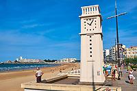 France, Vendée (85), Les Sables-d'Olonne, le Remblais // France, Vendée, Les Sables-d'Olonne