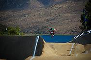 #133 (CRISTOFOLI Roberto) ITA at the 2013 UCI BMX Supercross World Cup in Chula Vista