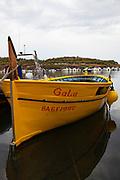 Dali's boat - Gala, the boat of surrealist artist Salvador Dali, Cala de Portlligat, Cadaques, Catalonia, Spain
