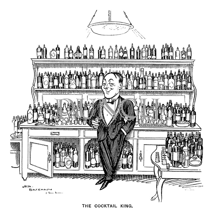The Cocktail King.
