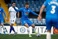 Harvey Gilmour. Stockport County FC 2-0 Chesterfield FC. Vanarama National League. 27.2.21 Edgeley Park.