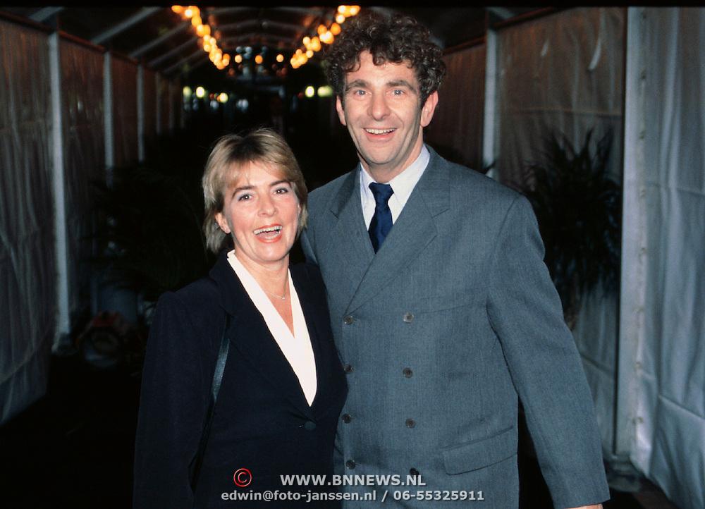 Nieuwjaarsreceptie Strengholt 1997, Chiel van Praag en vrouw