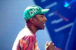 July 6, 2017 - Hamburg, Hamburg, Deutschland - Pharrell Williams beim Global Citizen Festival anlässlich des G20-Gipfel in der Barclaycard Arena. Hamburg, 06.07.2017 (Credit Image: © Future-Image via ZUMA Press)