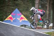 #921 (HARMSEN Joris) NED at Round 6 of the 2018 UCI BMX Superscross World Cup in Zolder, Belgium