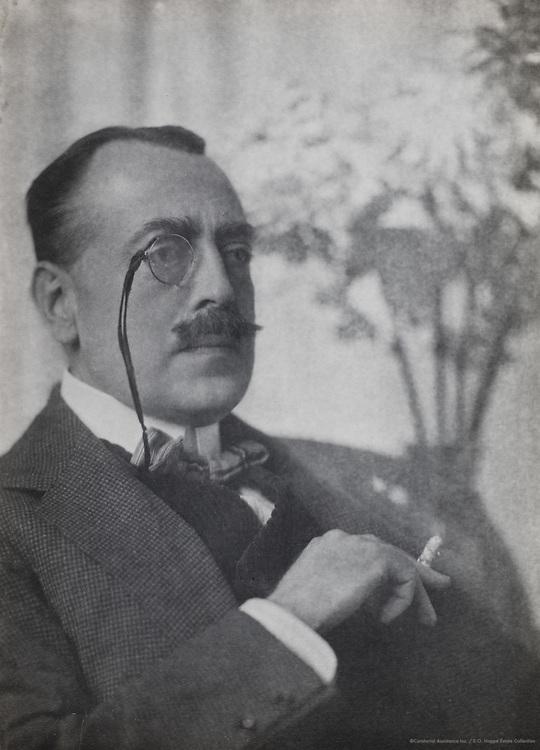 Haldane Macfall, art critic & historian, England, UK, 1912