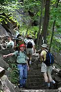 Hiking the Appalachian Trail at Bear Mountain