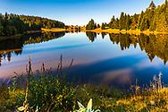 Haidushki Polyani lake in Rhodope Mountains