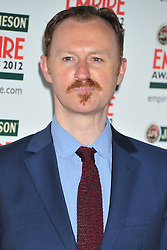 © Licensed to London News Pictures. 25/03/2012. London, England. Mark Gatiss attends the  Jameson Empire Awards held at the Grosvenor Hotel London  Photo credit : ALAN ROXBOROUGH/LNP