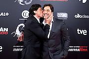 """Carlos Bardem presents his film """"Alacran Enamorado"""" with his brother Javier Bardem"""