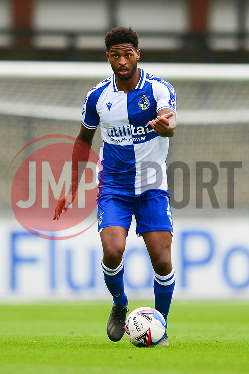 Mark Little of Bristol Rovers - Mandatory by-line: Dougie Allward/JMP - 15/08/2020 - FOOTBALL - Memorial Stadium - Bristol, England - Bristol Rovers v Exeter City - Pre-season friendly