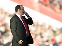 Photo: Lee Earle.<br /> Charlton Athletic v Liverpool. The Barclays Premiership. 16/12/2006. Liverpool manager Rafael Benitez.