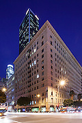 Roosevelt Building On The Corner Of 7th And Flower Los Angeles California