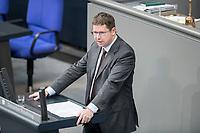 14 FEB 2019, BERLIN/GERMANY:<br /> Stephan Strake, MdB, CSU, Bundestagsdebatte, Plenum, Deutscher Bundestag<br /> IMAGE: 20190214-01-058<br /> KEYWORDS: Bundestag, Debatte
