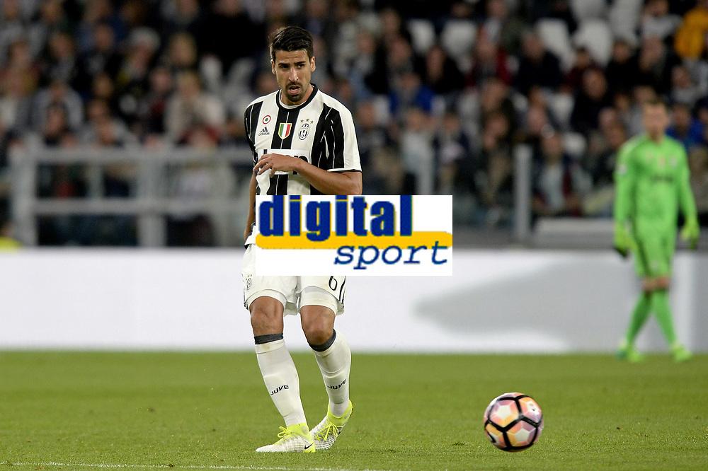 Sami Khedira Juventus <br /> Torino 23-04-2017, Juventus Stadium, Football Calcio 2016/2017 Serie A, Juventus - Genoa, Foto Filippo Alfero/Insidefoto