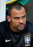 Football Fifa Brazil 2014 World Cup Matchs-Friendly / <br /> Brazil vs England 2-2  ( Jornalista Mario Filho - Maracana Stadium-Rio de Janeiro, Brazil )<br /> DIEGO CAVALIERI  of Brazil , Prior the Friendly match between Brazil and England