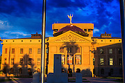 19 JULY 2012 - PHOENIX, AZ:  The Arizona State Capitol at sunrise.   PHOTO BY JACK KURTZ