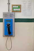 A payphone for use by prisoners, HMP Kingston.