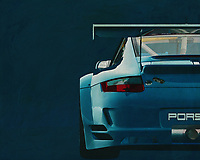 Porsche GT3 RS<br /> The back of a Porsche GT3. The Porsche GT2 and GT3 are racing versions of a Porsche 911.  <br /> Porsche racing cars are very popular and symbolize fast cars.<br /> This Porsche gives your interior a nice detail where car enthusiasts will certainly charm. -<br /> <br /> BUY THIS PRINT AT<br /> <br /> FINE ART AMERICA<br /> ENGLISH<br /> https://janke.pixels.com/featured/back-of-a-porsche-gt-rs-race-version-jan-keteleer.html<br /> <br /> WADM / OH MY PRINTS<br /> DUTCH / FRENCH / GERMAN<br /> https://www.werkaandemuur.nl/nl/shopwerk/Porsche-GT3-RS-Cup-2008-achteraan/571998/132