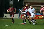 Gloucester Rugbys Santiago Carreras during the Gallagher Premiership Rugby match between Gloucester Rugby and Bristol Rugby at the Kingsholm Stadium, Gloucester, United Kingdom on 12 February 2021.