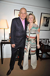 NAIM ATTALLAH and SUZE MURRAY at a party to celebrate the publication of Joth Shakerley's book 'Pregnant Women' held at 598a Kings Road, London SW6 on 20th May 2009.