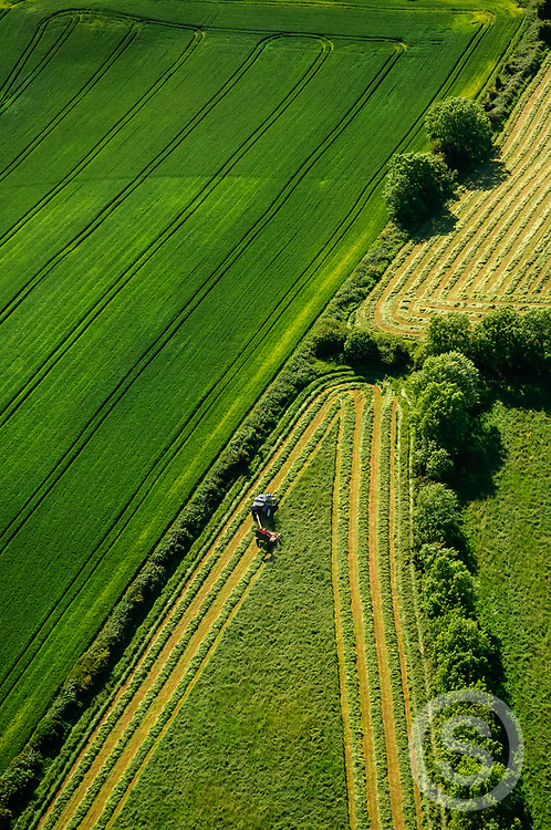 Photographer: Chris Hill, Silage Harvesting, County Down